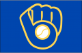 Milwaukee Brewers 2006-2019 Cap Logo decal sticker