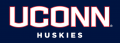 UConn Huskies 2013-Pres Wordmark Logo iron on sticker