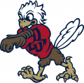 Liberty Flames 2013-Pres Mascot Logo iron on sticker