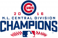 Chicago Cubs 2016 Champion Logo iron on sticker
