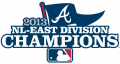 Atlanta Braves 2013 Champion Logo decal sticker