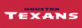 Houston Texans 2002-Pres Wordmark Logo iron on sticker