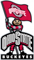 Ohio State Buckeyes 2003-2012 Mascot Logo 01 decal sticker