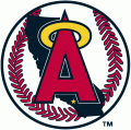 Los Angeles Angels 1986-1992 Primary Logo iron on sticker