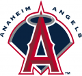 Los Angeles Angels 2002-2004 Primary Logo iron on sticker