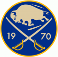 Buffalo Sabres 2010 11 Anniversary Logo iron on sticker