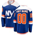 New York Islanders Custom Letter and Number Kits for Blue Alternate Jersey