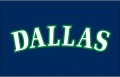 Dallas Mavericks 1993 94-2000 01 Jersey Logo decal sticker