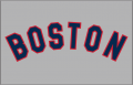 Boston Red Sox 1969-1972 Jersey Logo decal sticker