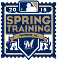 Milwaukee Brewers 2015 Event Logo decal sticker