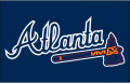 Atlanta Braves 2008-2017 Jersey Logo decal sticker