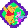 Disney Piglet Logo 13 iron on sticker