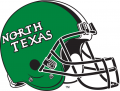 North Texas Mean Green 2005-Pres Helmet 01 iron on sticker
