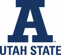 Utah State Aggies 2001-Pres Alternate Logo iron on sticker