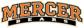 Mercer Bears 2007-Pres Wordmark Logo iron on sticker