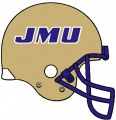 James Madison Dukes 1986-2012 Helmet iron on sticker