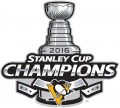 Pittsburgh Penguins 2015 16 Champion Logo decal sticker