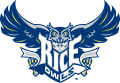 Rice Owls 1997-2009 Primary Logo decal sticker