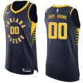 Indiana Pacers Custom Letter and Number Kits for Nike Navy Jersey