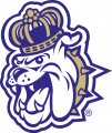 James Madison Dukes 2013-2016 Alternate Logo 02 iron on sticker
