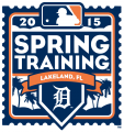 Detroit Tigers 2015 Event Logo decal sticker