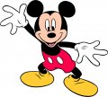 Mickey Mouse Logo 16 decal sticker