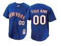 New York Mets Custom Letter and Number Kits for Navy Jersey