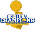 Golden State Warriors 2014-2015 Champion Logo iron on sticker