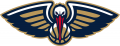 New Orleans Pelicans 2013-2014 Pres Partial Logo iron on sticker