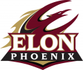 Elon Phoenix 2016-Pres Secondary Logo iron on sticker