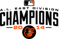 Baltimore Orioles 2014 Champion Logo iron on sticker