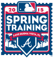 Atlanta Braves 2015 Event Logo decal sticker