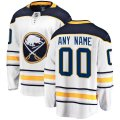 Buffalo Sabres Custom Letter and Number Kits for White Away Jersey