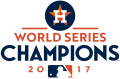 Houston Astros 2017 Champion Logo decal sticker