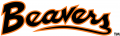 Oregon State Beavers 1979-1996 Wordmark Logo iron on sticker