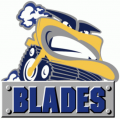 Saskatoon Blades 2000 01-2004 05 Primary Logo iron on sticker