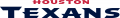 Houston Texans 2002-Pres Wordmark Logo 02 iron on sticker