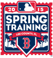 Boston Red Sox 2015 Event Logo decal sticker
