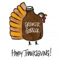 Thanksgiving Day Logo 28 decal sticker