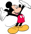 Mickey Mouse Logo 15 decal sticker