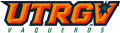 UTRGV Vaqueros 2015-Pres Wordmark Logo 04 decal sticker