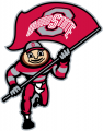 Ohio State Buckeyes 2003-2012 Mascot Logo 10 decal sticker