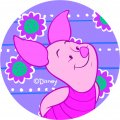 Disney Piglet Logo 10 iron on sticker