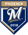 Milwaukee Brewers 2018 Event Logo decal sticker