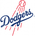 Los Angeles Dodgers 2012-Pres Primary Logo iron on sticker