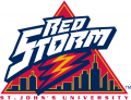 St.Johns RedStorm 1992-2001 Alternate Logo iron on sticker