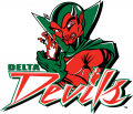 MVSU Delta Devils 2002-Pres Primary Logo iron on sticker