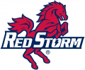 St.Johns RedStorm 1992-2001 Alternate Logo 05 iron on sticker