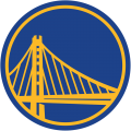 Golden State Warriors 2019-2020 Pres Alternate Logo 3 iron on sticker