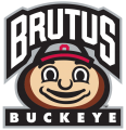 Ohio State Buckeyes 2013-Pres Mascot Logo decal sticker